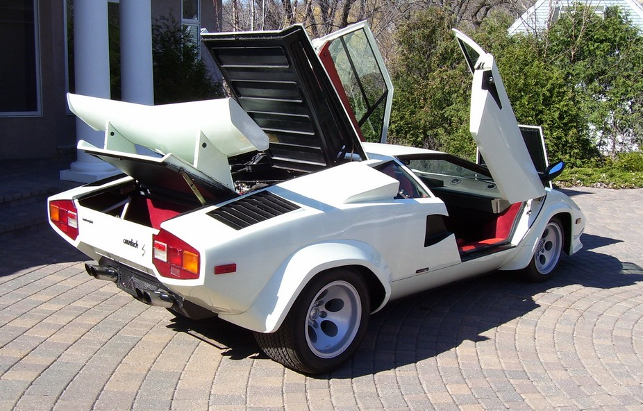 1980 lamborghini countach lp4000 s. Black Bedroom Furniture Sets. Home Design Ideas